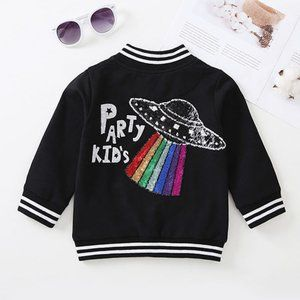Other - Party Kids Rainbow Bomber Jacket
